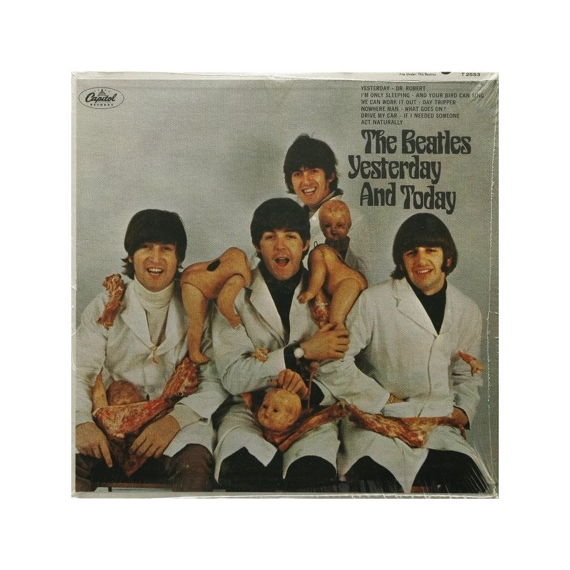 THE BEATLES - Yesterday & Today LP