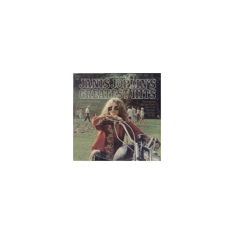 JANIS JOPLIN - Greatest Hits LP