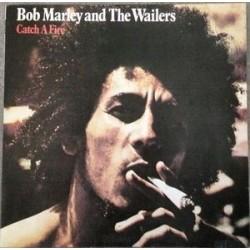 BOB MARLEY & THE WAILERS - Catch A Fire LP