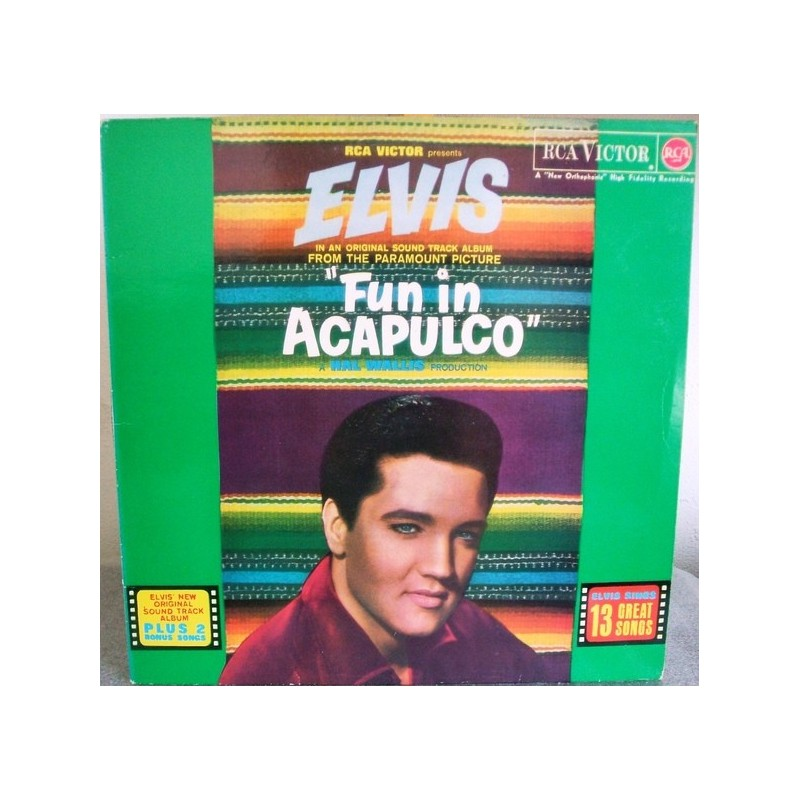 ELVIS PRESLEY - Fun In Acapulco LP