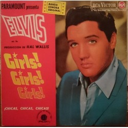 ELVIS PRESLEY - Girls, Girls, Girls LP