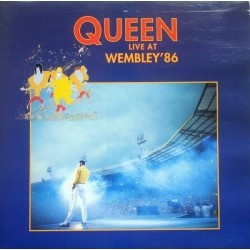 QUEEN - Live At Wembley '86 LP