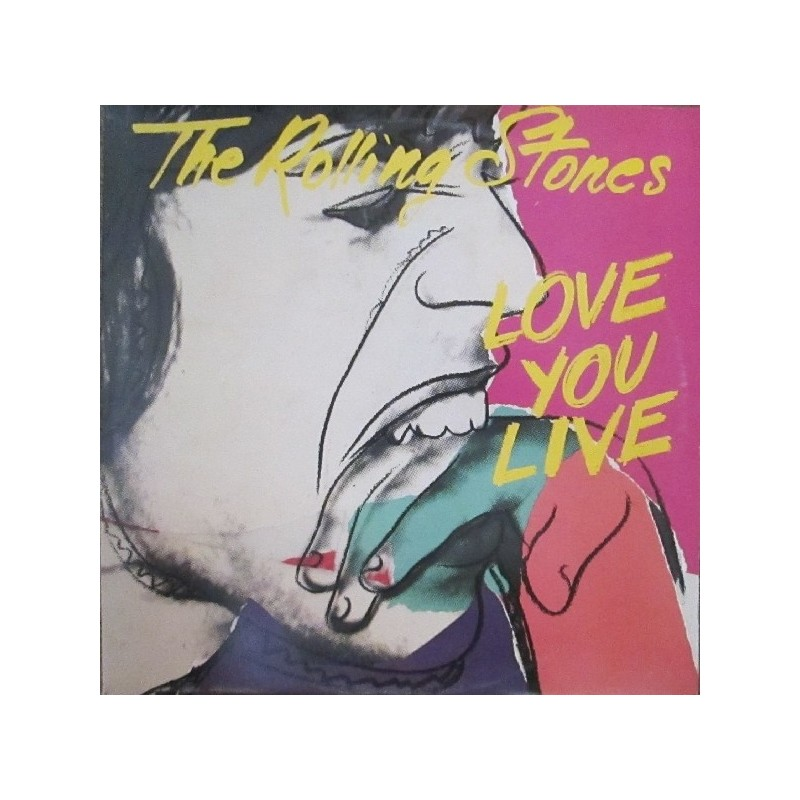 ROLLING STONES - Love You Live LP