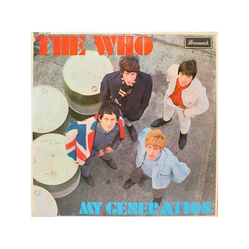 THE WHO ‎–  My Generation LP