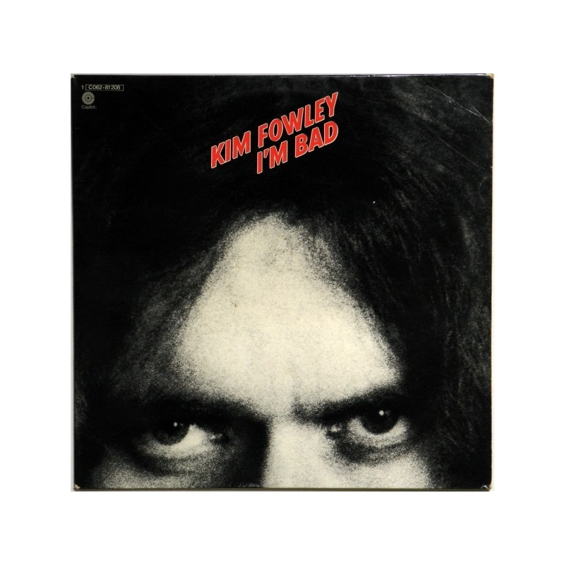 KIM FOWLEY ‎– I'm Bad   LP