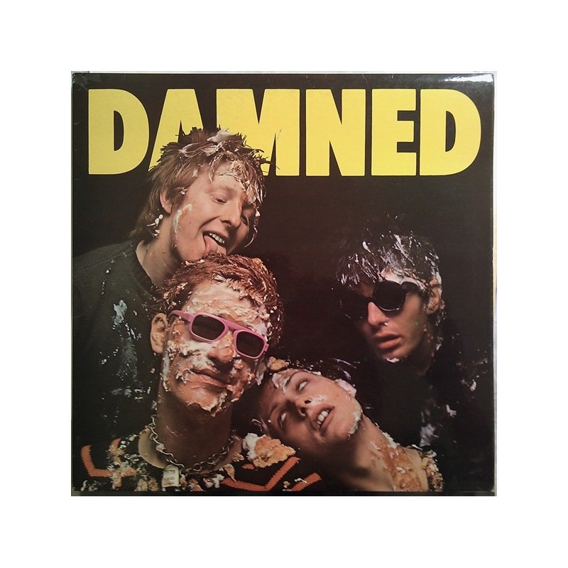 DAMNED - Damned, Damned, Damned LP