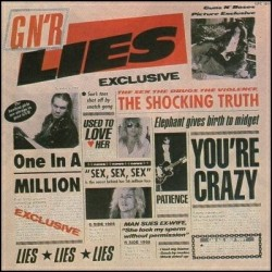GUNS N' ROSES - Lies LP