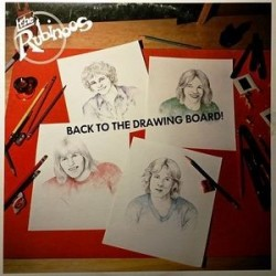 THE RUBINOOS ‎– Back To The Drawing Board LP