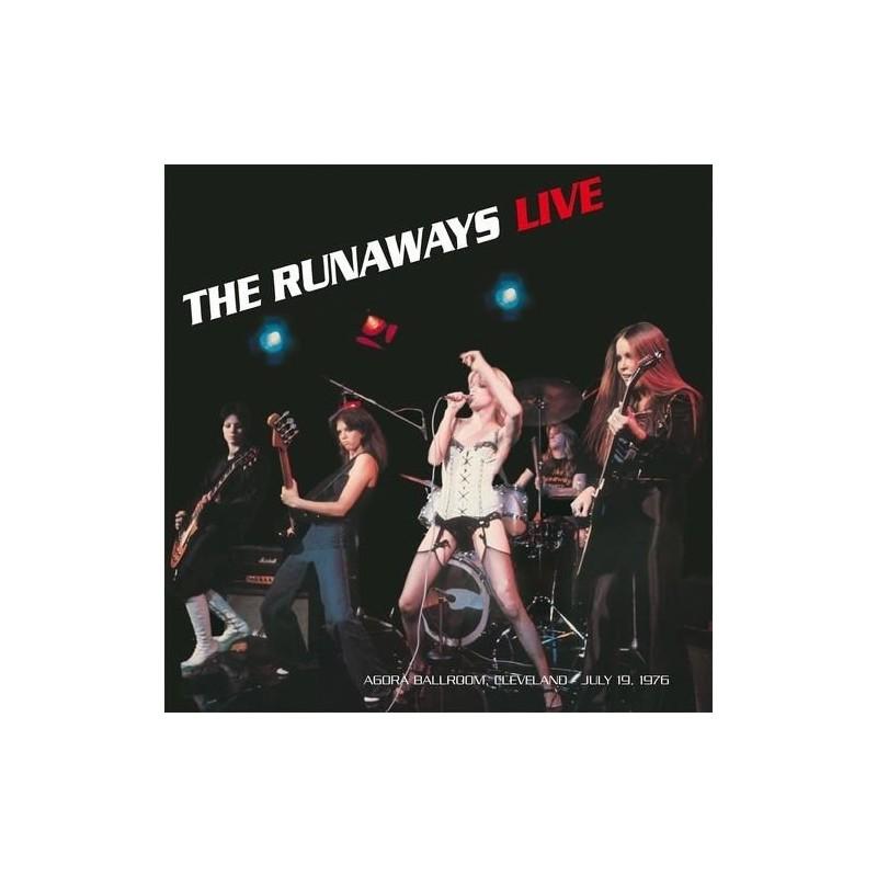THE RUNAWAYS - Live Cleveland 1976 LP