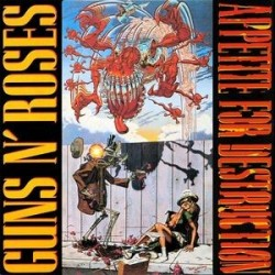 GUNS N' ROSES ‎– Appetite For Destruction LP