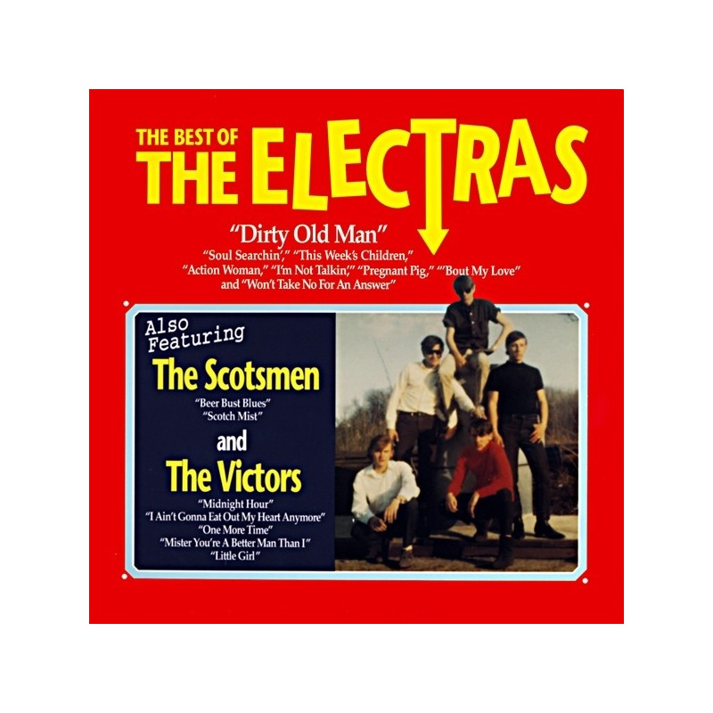 THE ELECTRAS - Best Of LP