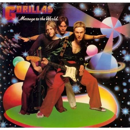 GORILLAS - Message To The World LP