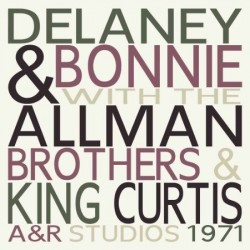 DELANEY & BONNIE - With The Allman Brothers & King Curtis - A&R Studios 1971 LP