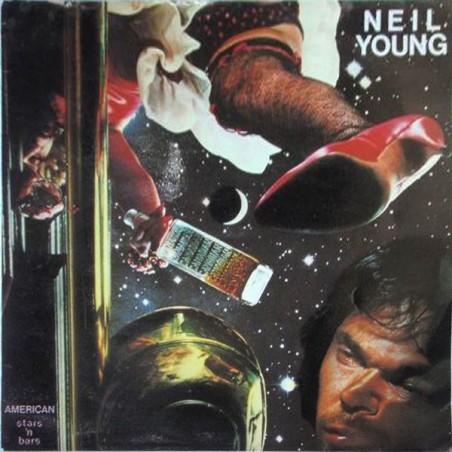 NEIL YOUNG - American Stars 'N Bars LP