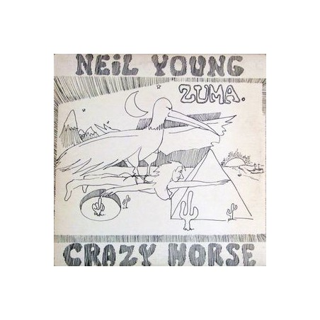 NEIL YOUNG & CRAZY HORSE - Zuma LP (Original)