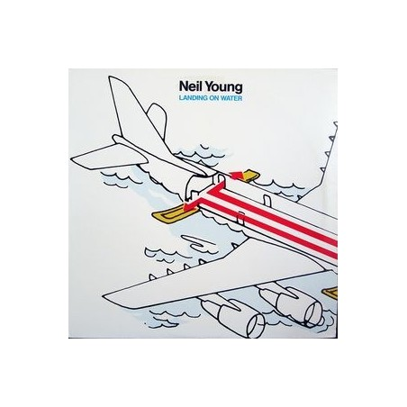NEIL YOUNG - Landing On Water LP
