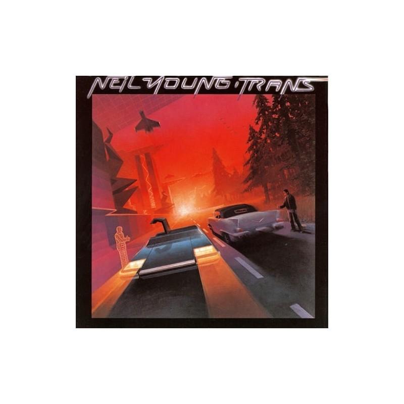 NEIL YOUNG - Trans LP