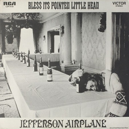JEFFERSON AIRPLANE - Bless Its Pointed Little Head LP (Original)