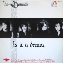 THE DAMNED - Is It A Dream + 4 Live Songs 12""