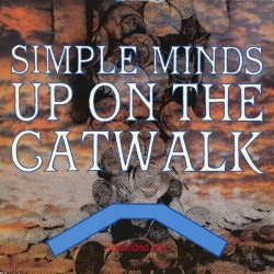 SIMPLE MINDS - Up On The Catwalk 12""