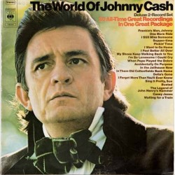JOHNNY CASH ‎– The World Of Johnny Cash (20 All Time Recordings) LP