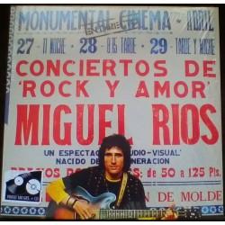 MIGUEL RIOS - Conciertos De Rock Y Amor En Directo LP