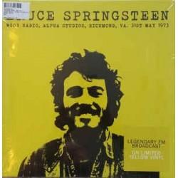 BRUCE SPRINGSTEEN - Wgoe Radio, Alpha Studios 1973 LP
