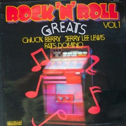 CHUCK BERRY, JERRY LEE LEWIS & FATS DOMINO - Rock 'N' Roll Greats LP