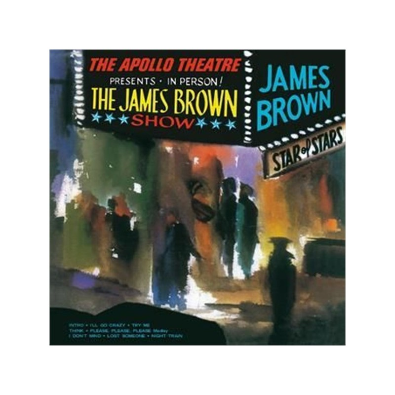 ‎ ‎JAMES BROWN - Live At The Apollo,  1963 LP