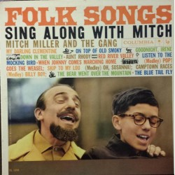 MITCH MILLER & THE GANG - Folk Songs Sing Along With LP