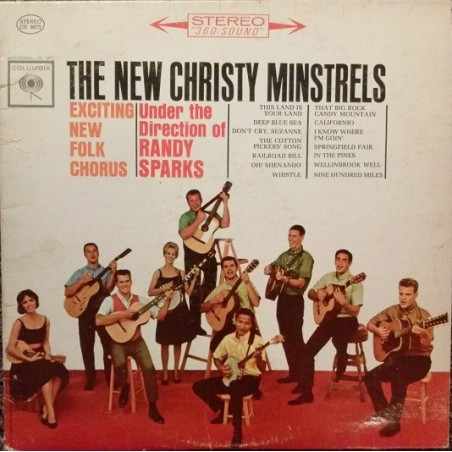THE NEW CHRISTY MINSTRELS - Exciting New Folk Chorus LP