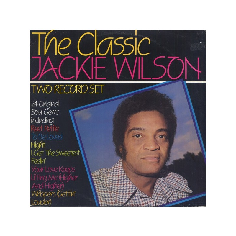 JACKIE WILSON - The Classic LP