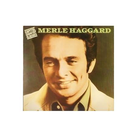 MERLE HAGGARD - Capitol Country Classics LP