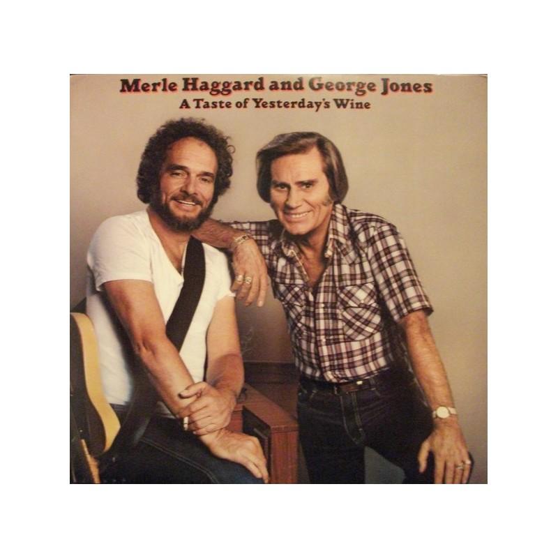 MERLE HAGGARD & GEORGE JONES - A Taste Of Yesterday's Wine LP
