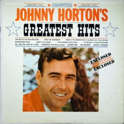 JOHNNY HORTON - Greatest Hits LP