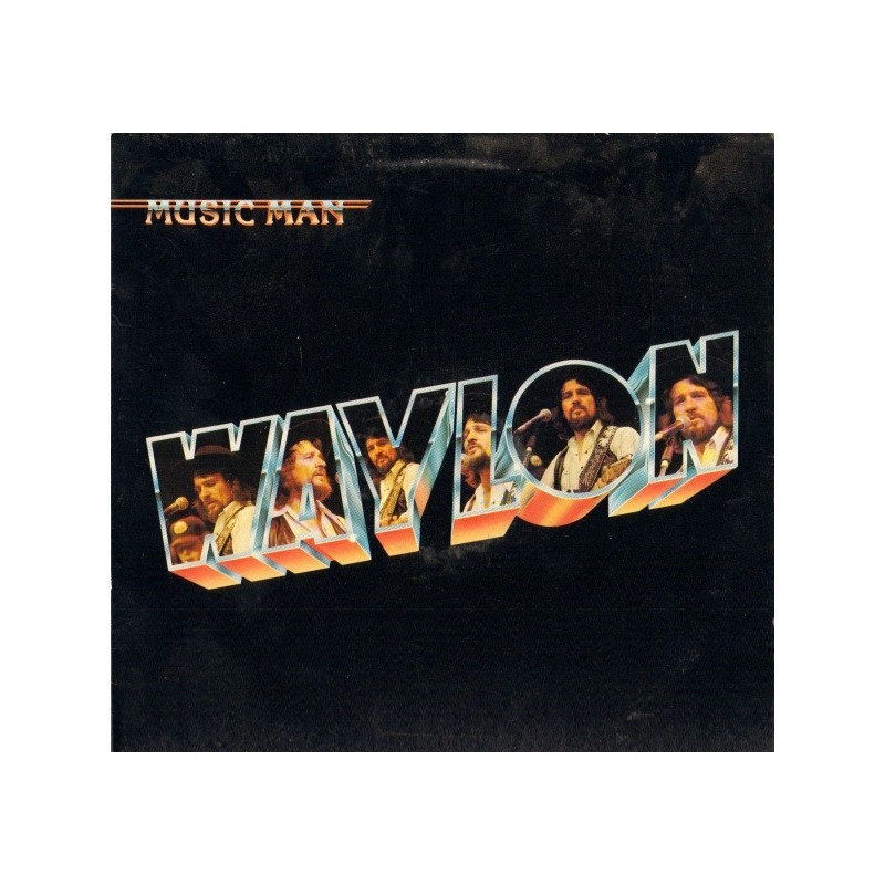 WAYLON JENNINGS - Music Man LP