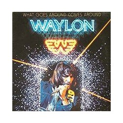 WAYLON JENNINGS - What Goes Around Comes Around LP