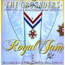 CRUSADERS & B.B. KING - Royal Jam (Recorded Live At The Royal Festival Hall, London) LP