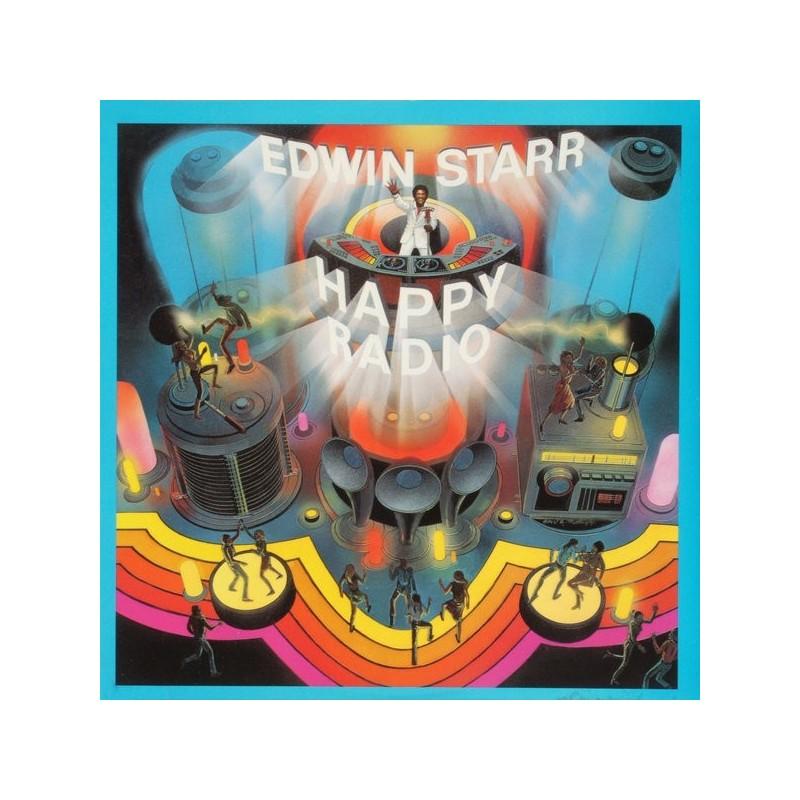 EDWIN STARR - H.A.P.P.Y. Radio LP