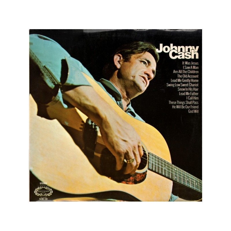 JOHNNY CASH – Hymns By LP