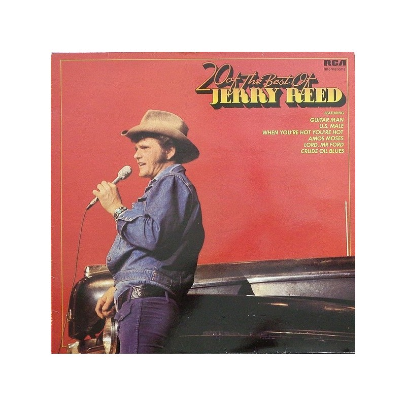 JERRY REED - 20 Of The Best Of  LP