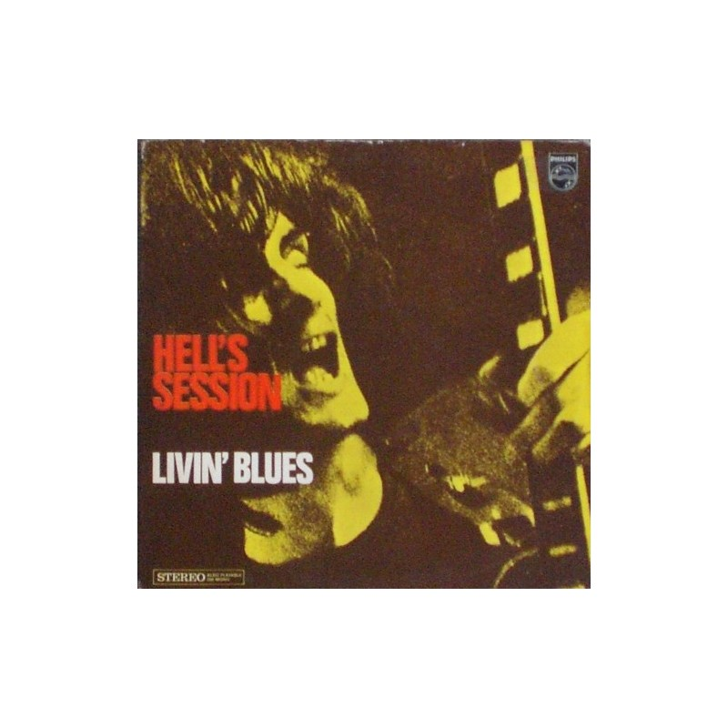 LIVIN' BLUES - Hell's Session LP