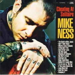 MIKE NESS - Cheating At Solitaire LP