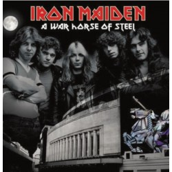 ‎ ‎‎ IRON MAIDEN ‎– A War Horse Of Steel LP