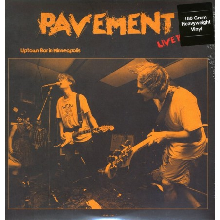 PAVEMENT - Live At Uptown Bar In Minneapolis - June 11, 1992 LP
