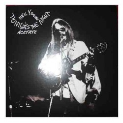 NEIL YOUNG - Tonight's The Night Acetate LP