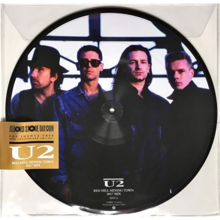 """U2 - Red Hill Mining Town 12"""" PICTURE DISC"""