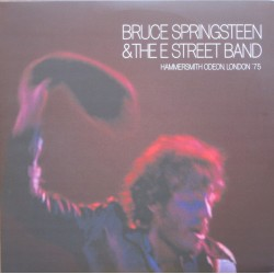 BRUCE SPRINGSTEEN & THE E STREET BAND . Hammersmith Odeon, London '75 LP