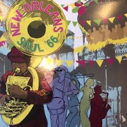 VARIOS - New Orleans Soul'66 LP