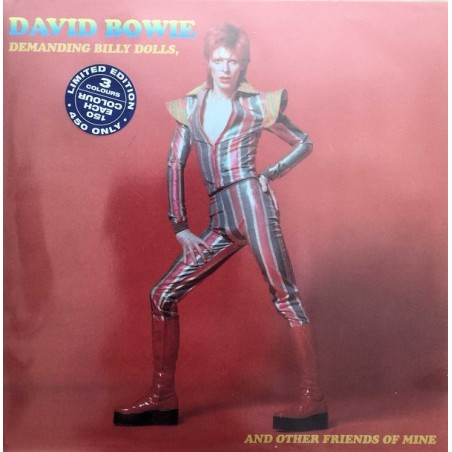 DAVID BOWIE - Demanding Billy Dolls And Other Friends Of Mine  LP